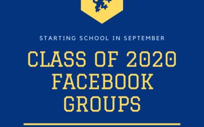 Starting School in September ? – Class of 2020 Facebook Groups